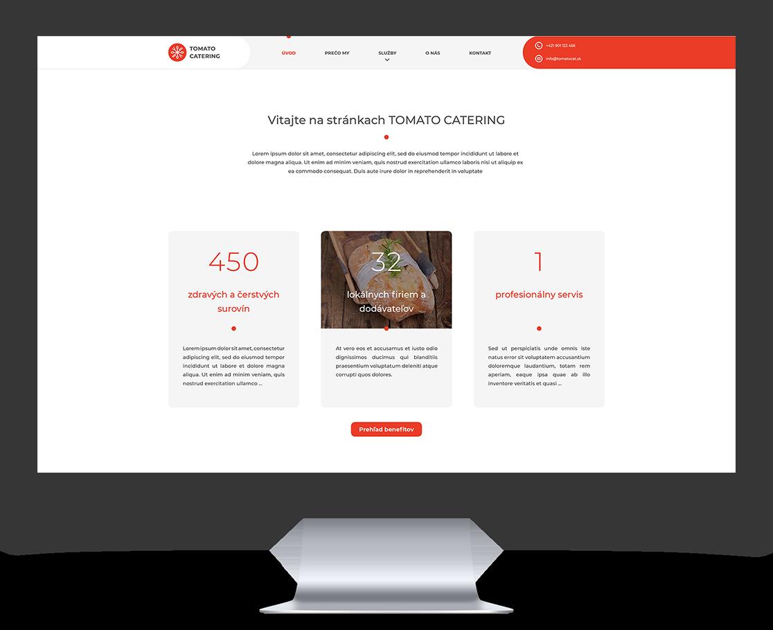 Evolučná webová stránka pre Služby a remeslá